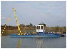 Драги за подводен добив на инертни материали